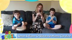 Senan agus Fionn ar TG4